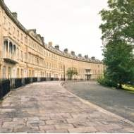 Entire Grade I listed crescent for sale through Savills Bath