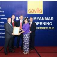 Savills opens new office in Yangon, Myanmar
