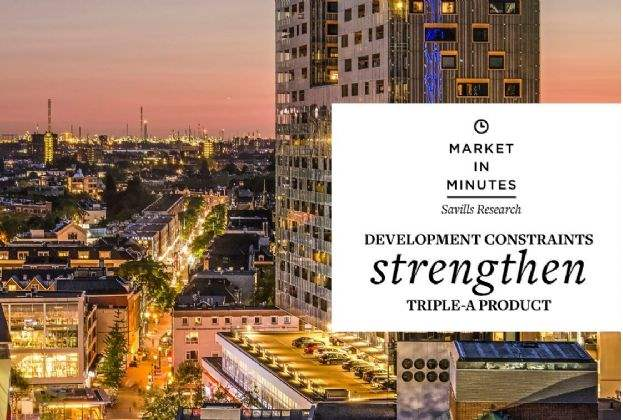Demand outstripping new supply: Savills gives a strong buy signal for Dutch real estate