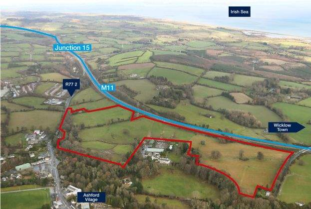 58 acres in County Wicklow for €13.5m