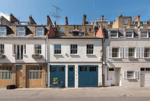 Sir Terence and Lady Conran's London home comes to the market