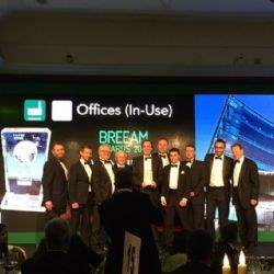 Savills property management team commended for sustainability at BREEAM Awards