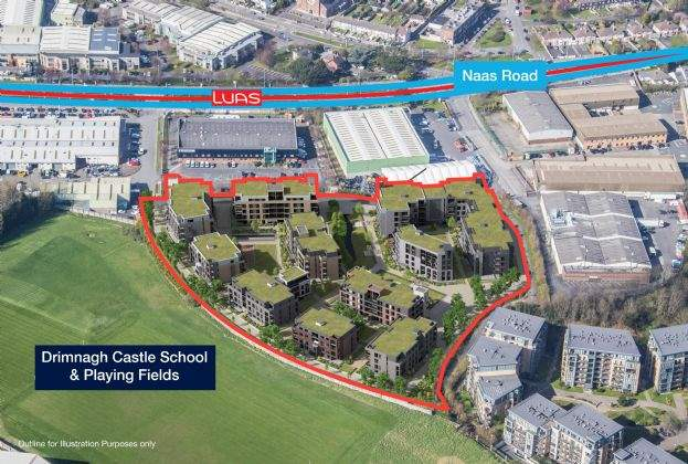 €12m for Dublin site with planning permission for 358 apartments