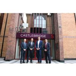 New tenant signs up at Castlebridge, Cardiff
