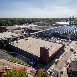 AaBe Fabriek shopping development in Tilburg, the Netherlands, nominated for Dutch Council of Shopping Centres Award