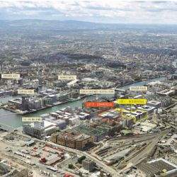 One of the last remaining development sites in Dublin's Docklands on the market for €110,000,000