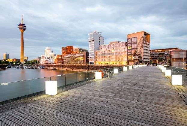 Bürovermietungs- und Gewerbeinvestmentmarkt in Düsseldorf Q1 2019