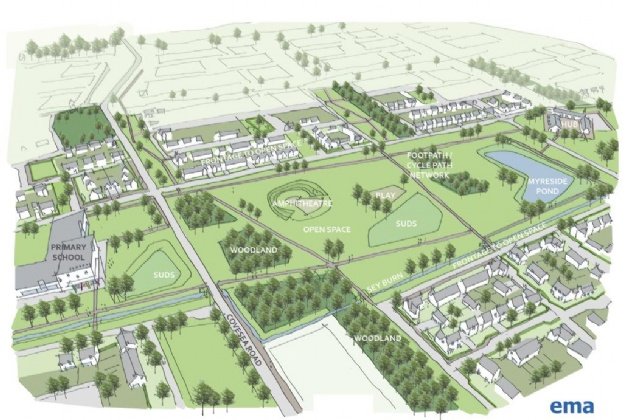 Elgin's award-winning new neighbourhood receives planning consent as Barratt secures land