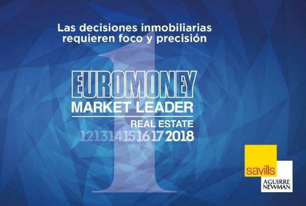 Savills Aguirre Newman, elegida como mejor consultora inmobiliaria en España en 2018