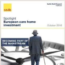 Europese investeringsvolumes zorgwoningen gestegen tot €2,6 miljard in H1 2016