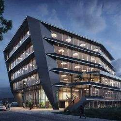 Flow Houthavens office building in Amsterdam half-leased before completion