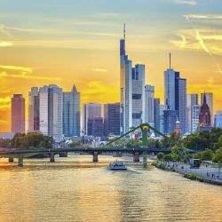 Bürovermietungs- und Gewerbeinvestmentmarkt in Frankfurt 2017