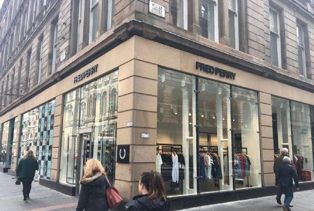 Belstaff and Fred Perry open on Ingram Street, Glasgow