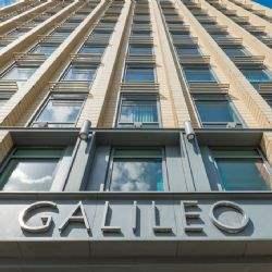 Nowa kantyna w budynku biurowym Galileo w Krakowie
