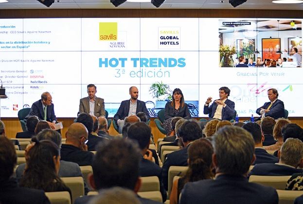 Savills Aguirre Newman reúne a los expertos del sector hotelero de España para analizar las perspectivas de la industria y presentar las principales claves de la distribución
