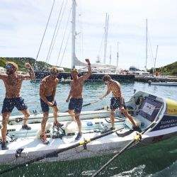 Harry Wentworth-Stanley completes 3,000 miles Atlantic Challenge and breaks record for charity fund raising