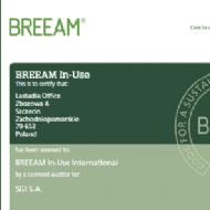Biurowiec Lastadia otrzymał certyfikat BREEAM In-Use