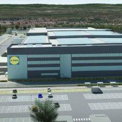 Eurocentral is strengthened Lidl by Lidl