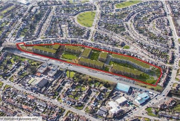 Dublin 7 site with planning for 420 residential dwellings on the market for €32m