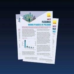 Raport: Elastyczne miejsca pracy w Polsce