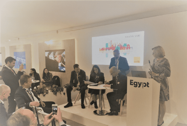 Savills signs joint-venture with Sphere Property Management to strengthen the company's presence in Egypt