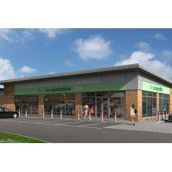New retail units available on Emperors Way in Hucknall, Nottinghamshire