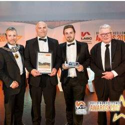 Sudbury Courtyard and Savills Lichfield rural team scoop accolade at East Midlands LABC Building Excellence Awards