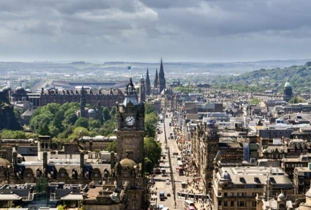 Edinburgh's world-famous Princes Street has a real opportunity to move with the times, says Savills