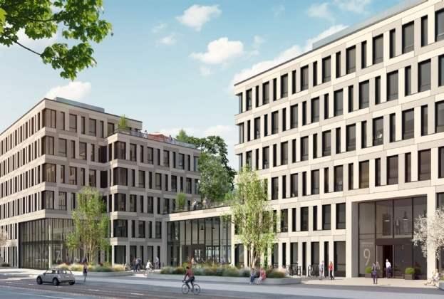 """Bauwens Development und Corpus Sireo starten mit der Vermarktung der """"Reiterstaffel Offices"""" in Köln Marienburg"""