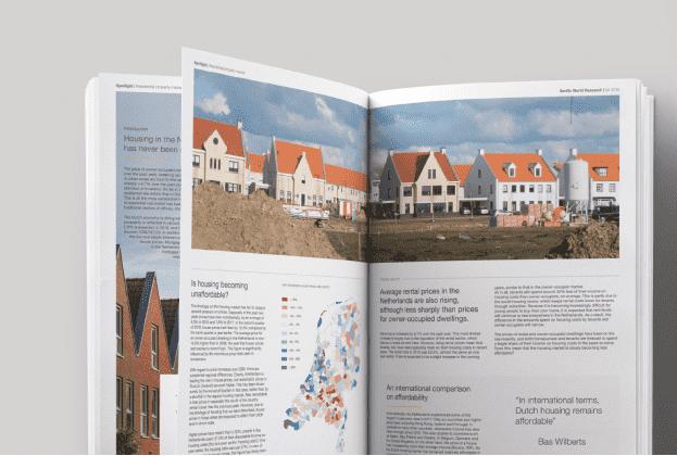Portemonnee groeit mee met woningprijsstijging; Nederlandse woningmarkt internationaal gezien goed betaalbaar