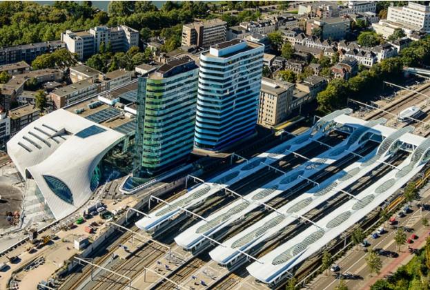 Dutch pension fund PMT buys office building 'De Rijntoren' at Arnhem Central Station in the Netherlands