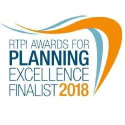 Savills shortlisted in the RTPI Awards for Planning Excellence 2018