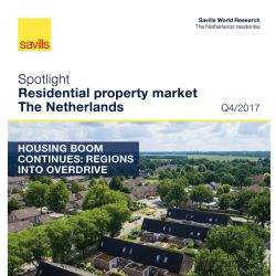 Huizenmarkt hausse zet voort: Savills ziet beleggingsmarkt verschuiven richting regio
