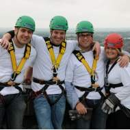 Savills Abseiling Team raises over £1,200 for charity
