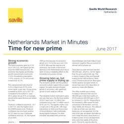 Savills presenteert Market in Minutes rapport tijdens PROVADA 2017