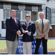 Not to be Sneezed at - a peppercorn paid from Savills sponsored cricket club