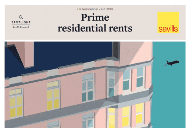 Savills Five-year Prime Rental Forecasts