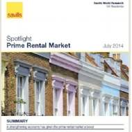 Prime London average rents restored to peak levels, but growth is not uniform