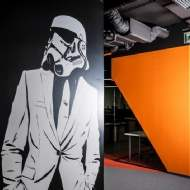 StepStone presents the new 'Star Wars' inspired office fit-out