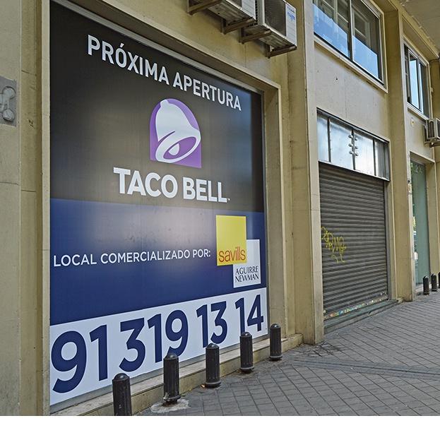 Savills Aguirre Newman asesora a Taco Bell en la apertura de su nuevo restaurante en Madrid