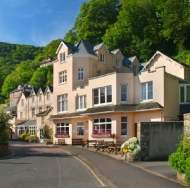 Harbour side hotel for sale in Exmoor