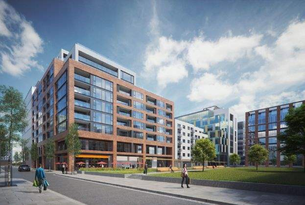 Dublin docklands apartment block on the market for €52.5m