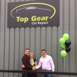 Top Gear pulls up at Limesquare Business Park, Grantham