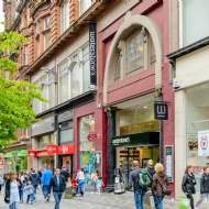 Novel retail investment opportunity on Sauchiehall Street, Glasgow