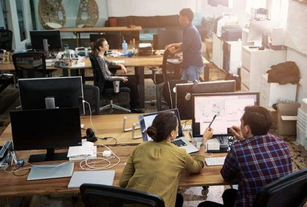 Minder eenheidsworst; millennials 'disrupten' het traditionele kantoor